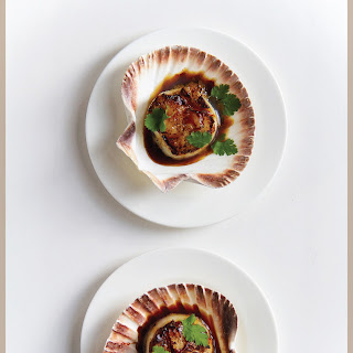 Sticky Sweet Salty Sour Spicy Seared Scallops.