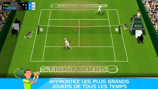 Stick Tennis  captures d'écran 2