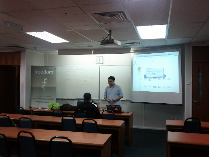 Photo: App Repo discussion session