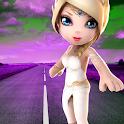 Princess Crossy Game Road Fun icon
