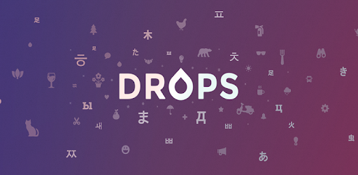 Drops: Learn Korean, Japanese, Chinese language Applications (apk) téléchargement gratuit pour Android/PC/Windows screenshot