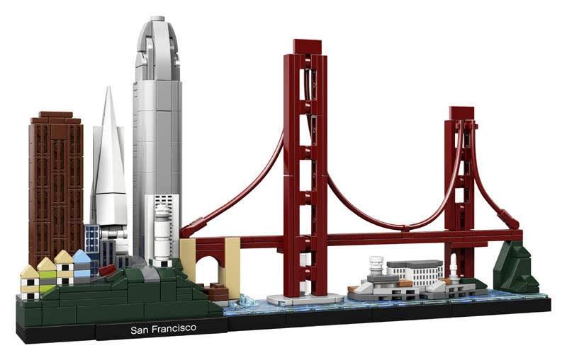 Contenido de Lego® 21043 San Francisco