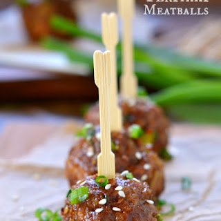 Teriyaki Meatballs Recipe
