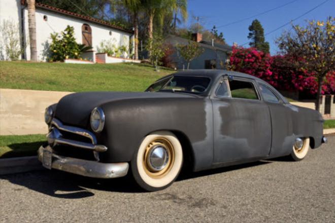1949 Ford Kustom rat rod chopped top Hire CA
