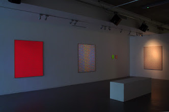 """Photo: Installation view of """"Hisachika Takahashi: Antwerp 1967/Brussels 2013/Liverpool 2013"""" at Exhibition Research Centre, Liverpool John Moores University"""