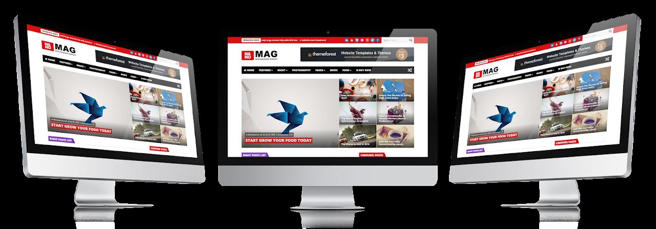 NanoMag - Responsive Blog & Magazine Blogger Template - 9