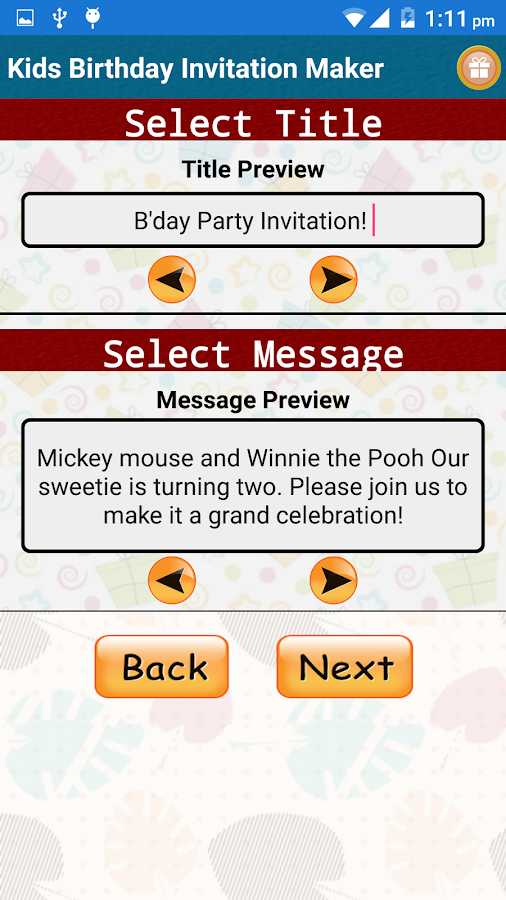 Kids Birthday Invitation Maker Android Apps On Google Play - Birthday invitation reminder message