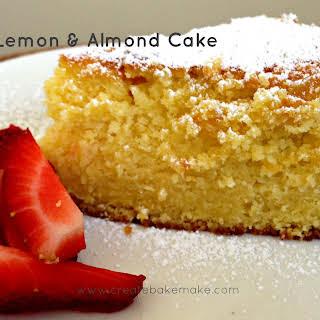 Lemon and Almond Cake.