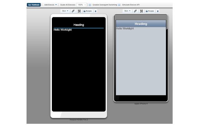 Mobile Browser Simulator UserAgent Switcher