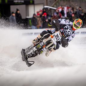 Snowbike by Kenton Knutson - Sports & Fitness Motorsports ( xgames, winter, snowbike, racing, moto, snow,  )