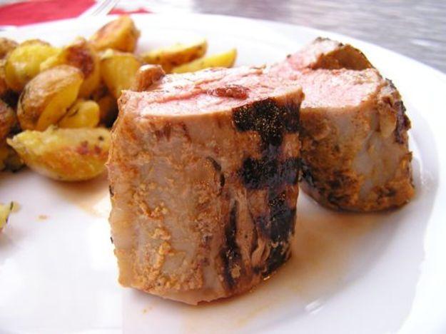 Grilled Chipotle-Stuffed Pork Tenderloin