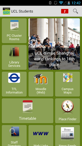 UCL Go - Student Edition