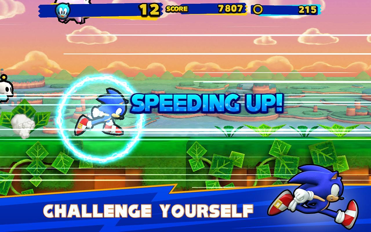 Sonic Runners- screenshot