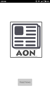 AON ( all in one news ) - náhled