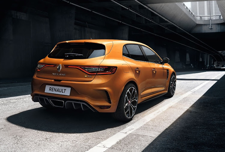 The GT will lose its spot at the top of the Megane line-up when the new RS arrives in SA. Picture: NEWSPRESS UK