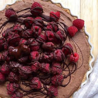 Paleo Baking's Fresh Raspberry French Silk Pie.