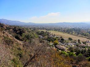 Photo: View southeast from Garcia Trail toward Glendora