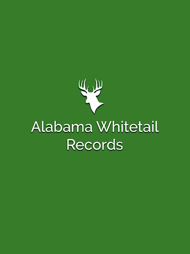 Alabama Whitetail Records - Trophy Deer Records 1.0 screenshots 1