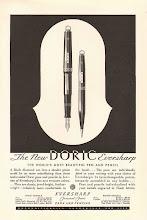 Photo: 1931 advert for the new Doric range