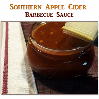 Southern Apple Cider Barbecue Sauce.