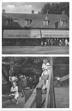 Photo: 1949 Café de Drie linden met speeltuin