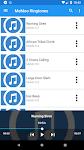 screenshot of MeMoo Basic Ringtones