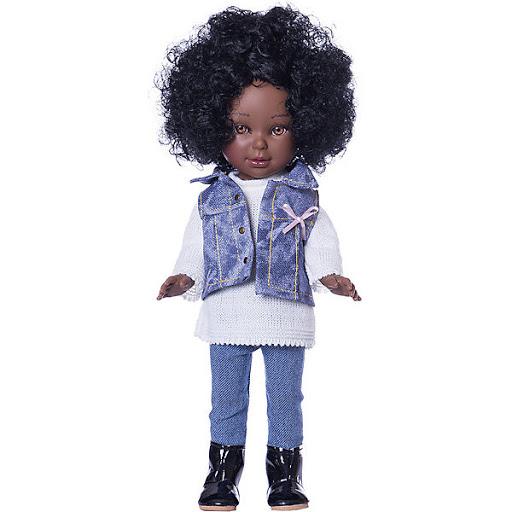 Купить Куклу Prespring Паулина африканка Vestida de Azul 11651927