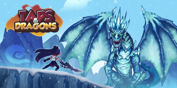 Taps & Dragons Idle Heroes 1.1.28f APK + MOD (Infinite Coins/Diamonds)