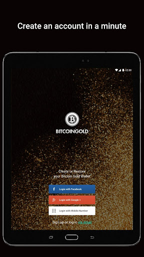 Bitcoin Gold Wallet by Freewallet screenshot 7