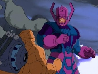 The Silver Surfer and the Coming of Galactus Part 2