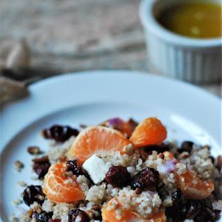 Winter Quinoa Salad with Citrus Vinaigrette Recipe