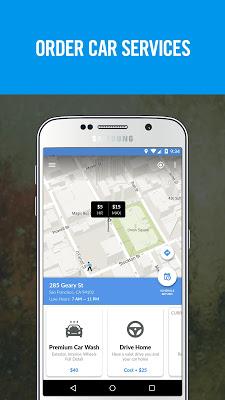 Luxe – Valet Parking App - screenshot