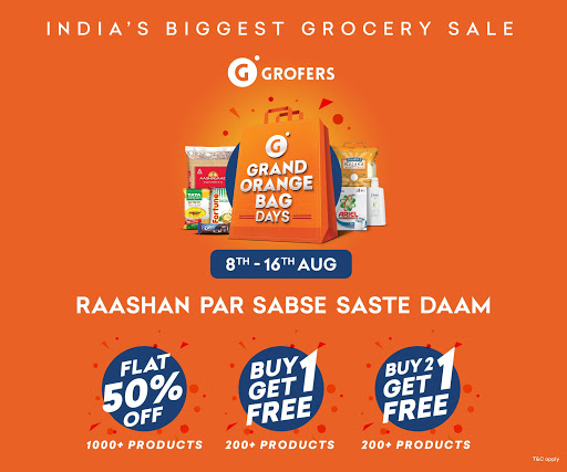 Grofers-grocery delivered safely with SuperSavings 5.5.54 screenshots 1