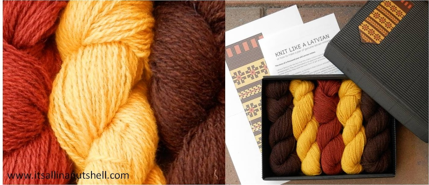 knit like a latvian yarn kit