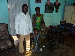 Photo: Marié à une couturière, père de 2 adorables enfants, il est très reconnaissant envers le CTM, et son parrain avec lequel il garde d' excellentes et régulières relations.