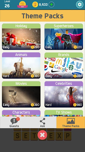 Pictoword: Fun Word Games, Offline Word Brain Game 1.10.6 screenshots 5