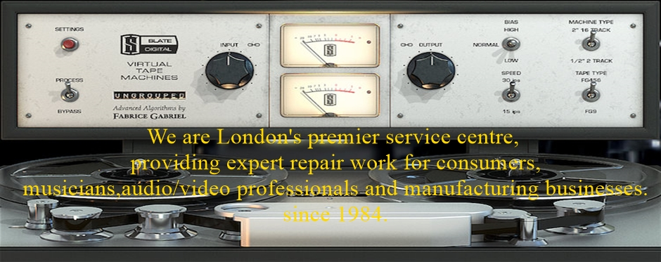 Amplifier Repairs In Central London