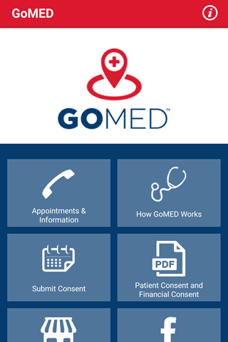 GoMED- screenshot