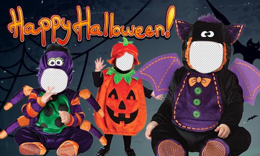 Halloween Baby Costume Montage
