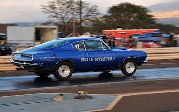 Photo: Gone like a Blue Steak!