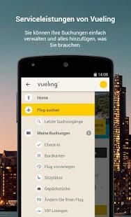 Vueling - Billigflüge – Miniaturansicht des Screenshots