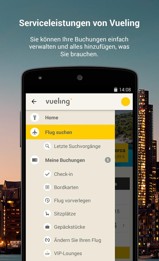 Vueling - Billigflüge – Screenshot