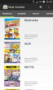 Moja Gazetka, promocje, kupony- screenshot thumbnail