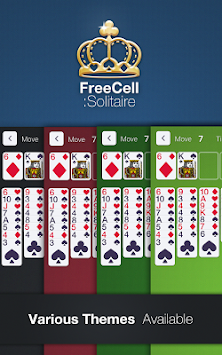 FreeCell Solitaire! apk screenshot