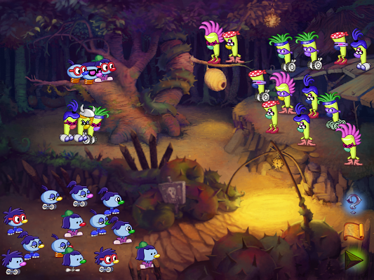 Zoombinis- screenshot