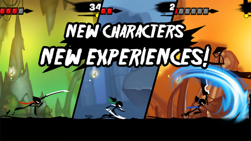 Stickman Revenge 3: League of Heroes Juegos para Android screenshot