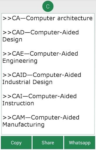 Computer And IT Abbreviations