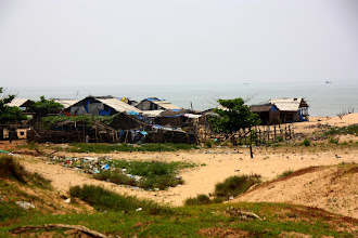 Photo: Year 2 Day 24 -  Settlement on the Beach