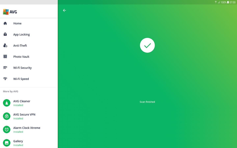 Screenshots of Tablet AntiVirus FREE 2018 for iPhone
