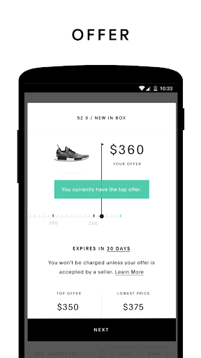 GOAT: Buy & Sell Sneakers 1.34.0 screenshots 2